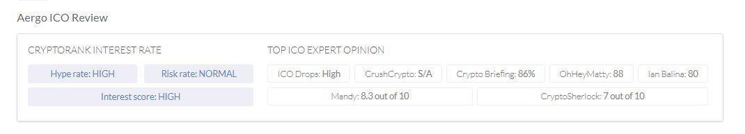 ICO expert opinion