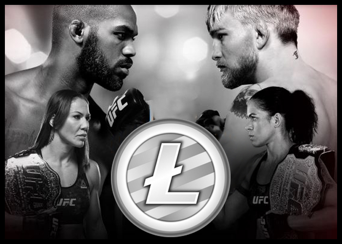 Litecoin is a UFC sponsor